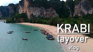 Krabi, Thailand VLOG - Ao Nang & Railay Beach