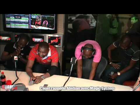 Cauet rappelle Abidjan avec Magic System - C'Cauet sur NRJ