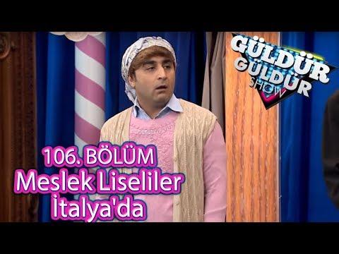 Güldür Güldür Show 106. Bölüm, Meslek Liseliler İtalya'da