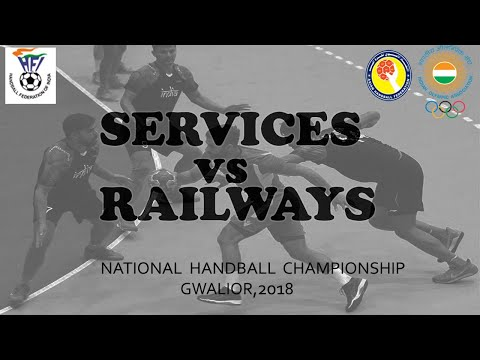 Services Vs Railway handball match