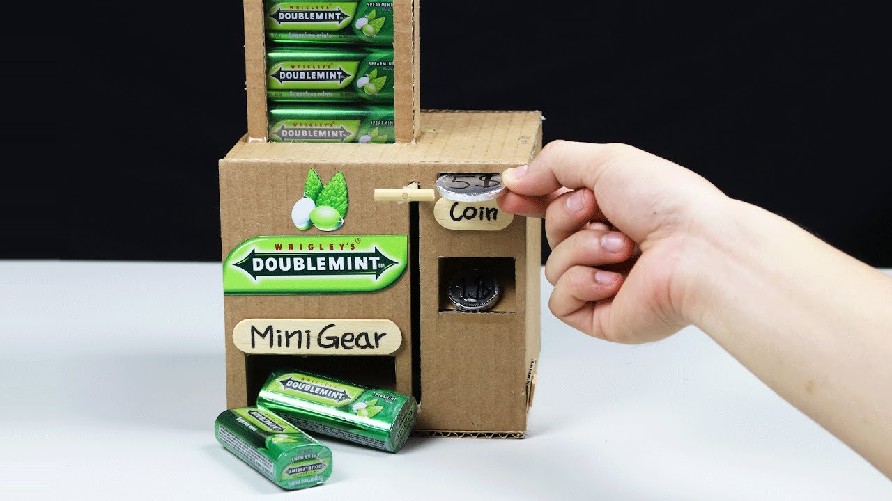 Wow Amazing Doublemint Vending Machine By Chocolate Coin