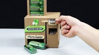 Wow Amazing DOUBLEMINT Vending Machine by Chocolate Coin DIY