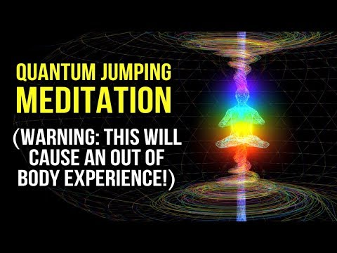 Quantum Jumping Guided Meditation: Enter A PARALLEL REALITY \u0026 Manifest FAST! (Law Of Attraction)