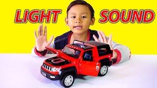 KEREN! Mainan Mobil Jeep Diecast Lampu Bisa Menyala & Bersuara | Diecast Light and Sound