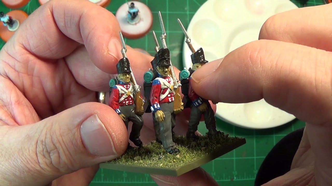 How to Paint British Troops for Napoleonic Battle's