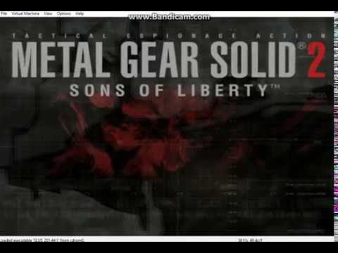 Metal Gear Solid 2: Sons of Libery on Play! PS2 emulator (upscaled