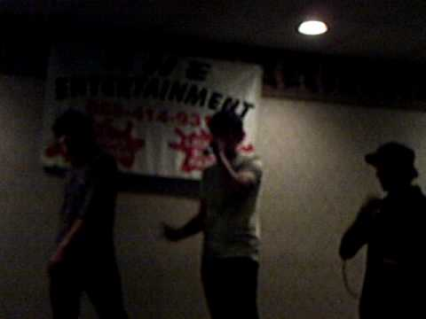 Kiowa Gordon from Twilight performing Baby Got Back during Karaoke