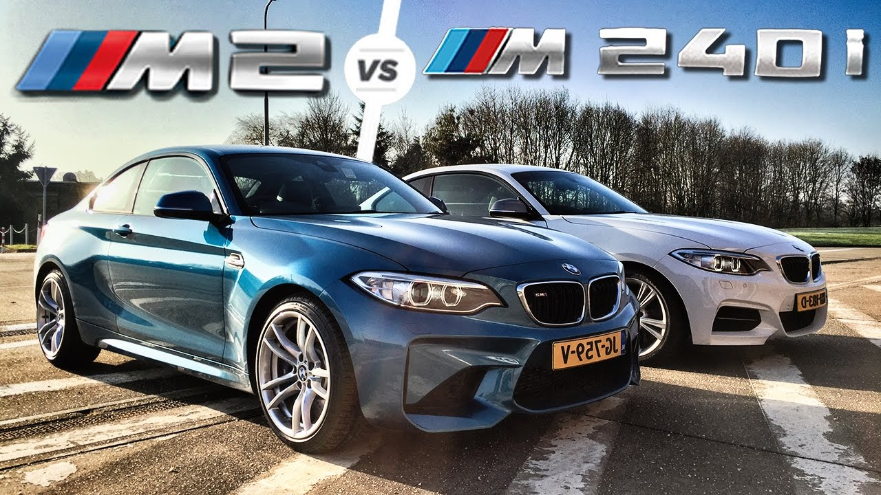 Bmw M2 Vs M240i Autobahn Pov Test Drive Top Speed By Autotopnl Youtube