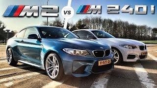 BMW M2 vs M240i Autobahn POV Test Drive Top Speed by AutoTopNL
