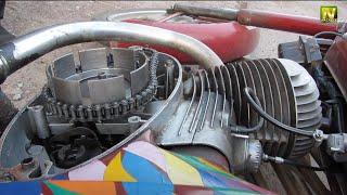 Ремонт мотоцикла ява часть №2 из 2-х, устранение неисправности...