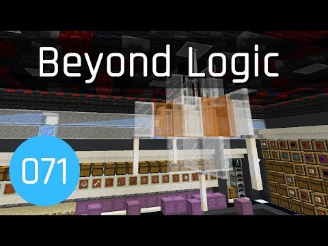 Beyond Logic #71: Death Star Internal Construction | Minecraft 1.13