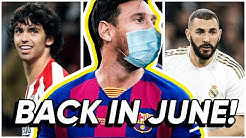 LA LIGA TO RETURN IN JUNE! // What you NEED TO KNOW about when will La Liga resume! | BugaLuis