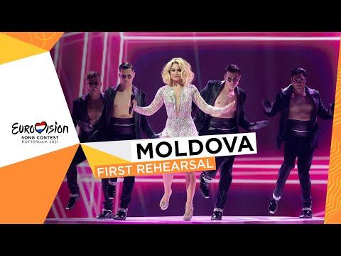 Natalia Gordienko - SUGAR - First Rehearsal - Moldova ?? - Eurovision 2021