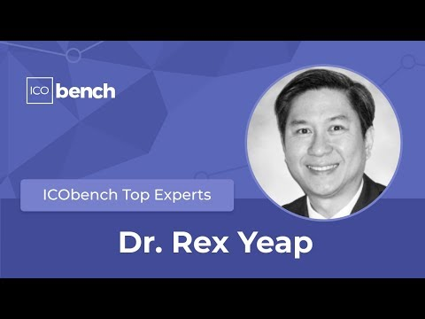 Dr. Rex Yeap on ICObench Top Experts