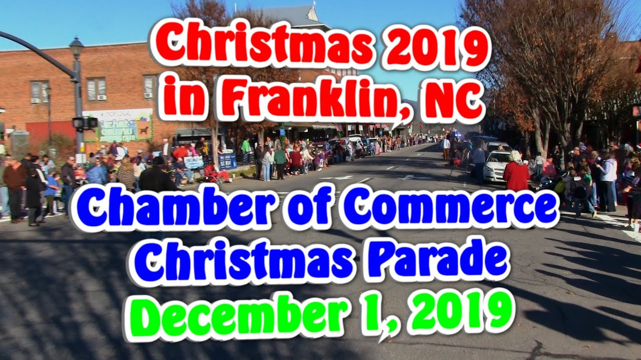 Franklin Nc Christmas Parade 2020 2019 Christmas Parade in Franklin, NC   YouTube