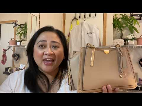 Coach Dreamer Beechwood Unboxing 👜/ What Fits In My Bag