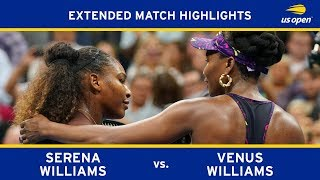 Extended Highlight: Serena Williams vs. Venus Williams | 2018 US Open, R3