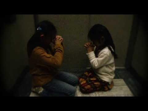 Japanese girl stuck in elevator