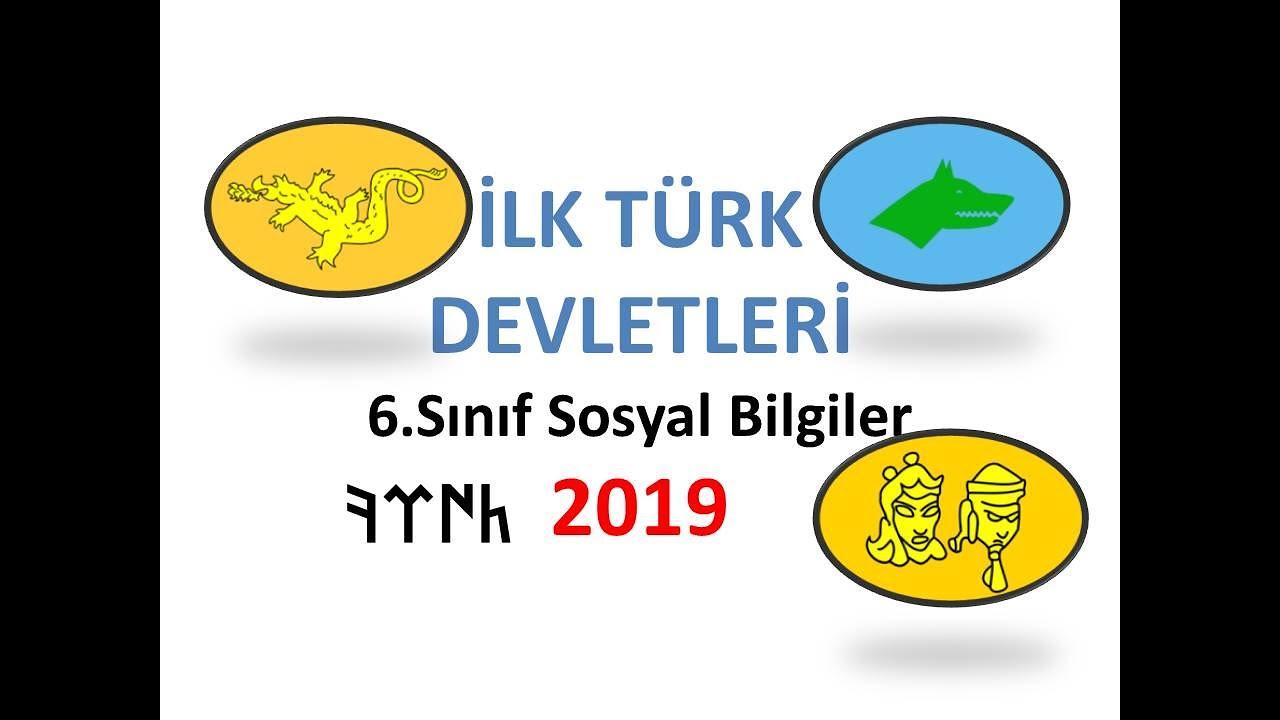 6 sinif sosyal bilgiler ilk turk devletleri kultur ve miras turklerin ana yurdu