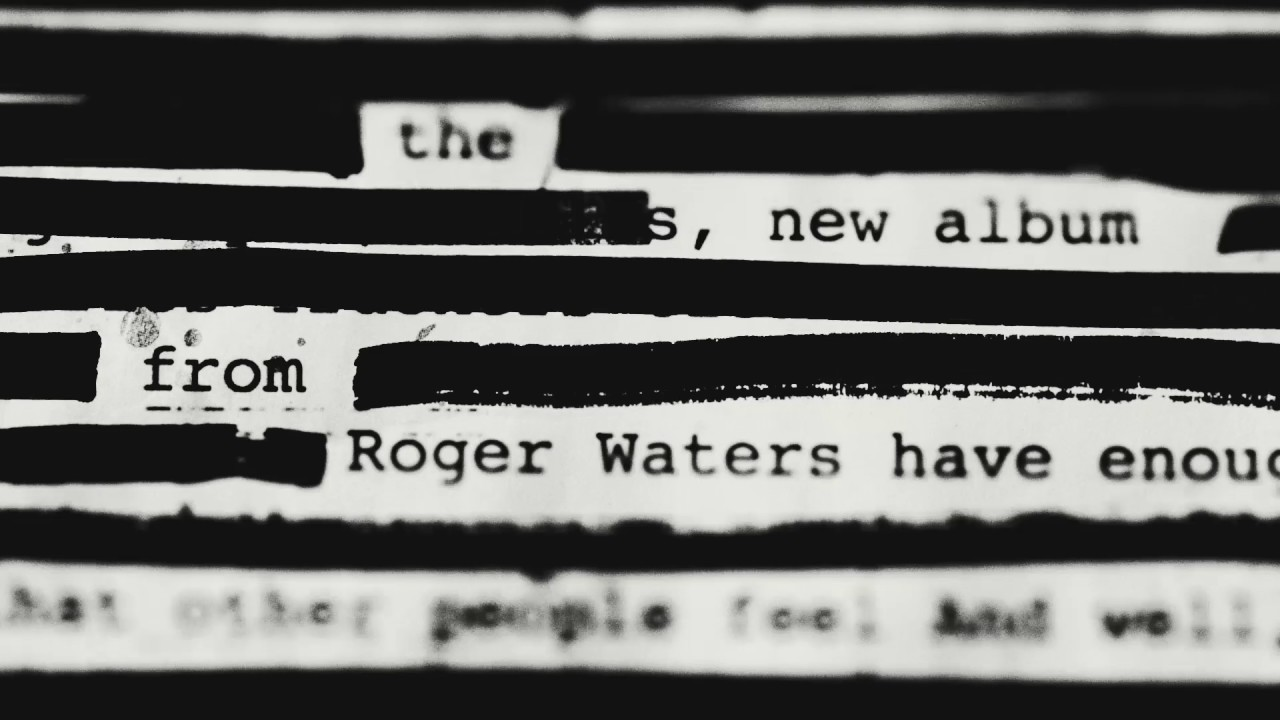 roger waters new album is this the life we really want youtube