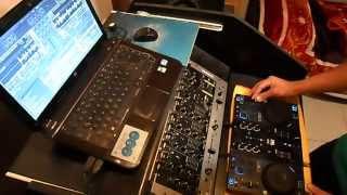 2da Demostración- DJ LAZZA-(Mix  Cumbia y Reggarton)_Hercules Dj Control Air + Traktor Scratch pro 2