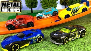 UNBOXING ZURU MIGHTY MACHINES SPORTS CARS & RACING COMPETITION