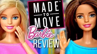Made to Move Barbie Review | New Articulated Dolls