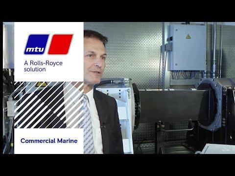 MTU E-Drive systems for ships