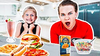 15 Kids SWAP DIETS for 24HRS!!