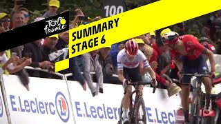 Summary - Stage 6 - Tour de France 2019