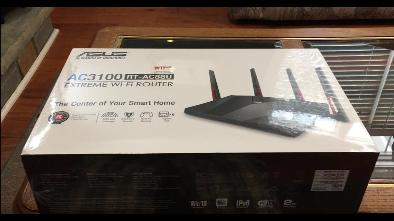 Asus ac3100 rt ac88u rt ac88r router unboxing setup youtube greentooth Image collections