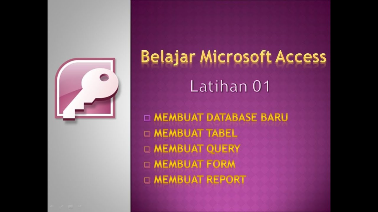 Ebook Microsoft Access 2013 Bahasa Indonesia