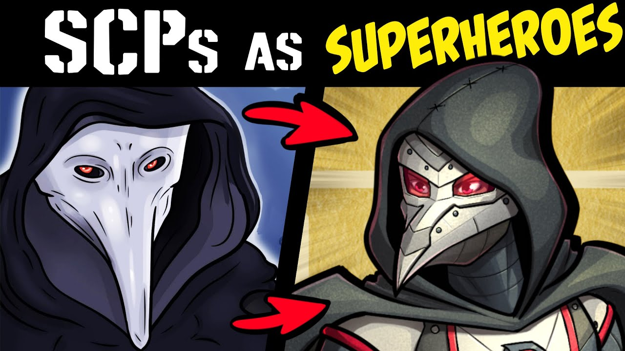 What if SCPs Were SUPERHEROES?! P3 (Lore & Speedpaint)
