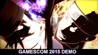 Naruto Shippuden Ultimate Ninja Storm 4 - 10 Minutes of Gameplay | Gamescom Demo #1