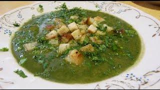 Постное блюдо! Суп-пюре из шпината!