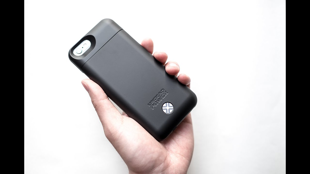 hot sale online 147e6 3c4ff Lenmar Maven Undead Power Battery Case for iPhone 6 - Review