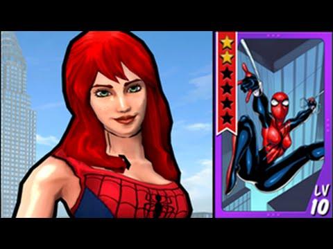 Spiderman Frau