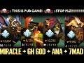 RANDOM ALL STAR IN RANKED PUB GAME - ANA Bounty Hunter Rapier Hard carry top Dota 2