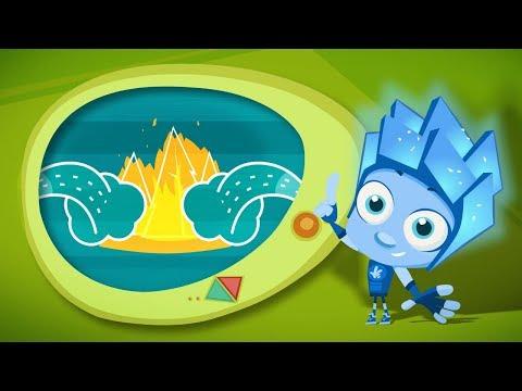Пожар в лесу мультфильм для детей