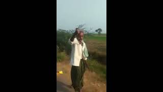 amazing feet of this old man catching a snake and dancing - funny video