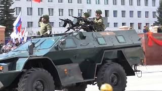 Парад Победы 2018 в Йошкар-Оле