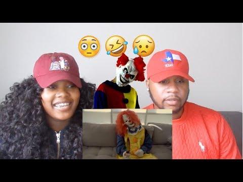 Couple Reacts To PrettyBoyFredo Killer Clown Prank
