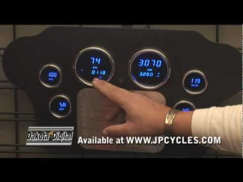 Dakota Digital LED Displays For Motorcycles From J&P Cycles