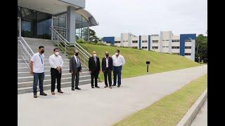 Directivos de Merca Panamá visitan la UTP.