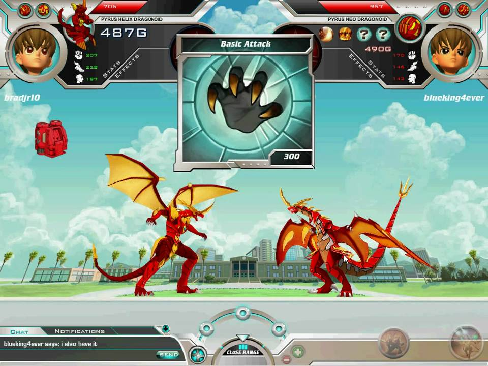 Play Bakugan Battle Brawlers online for Free on Agame