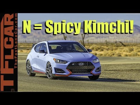 2019 Hyundai Veloster N: Hot Hatches Beware!