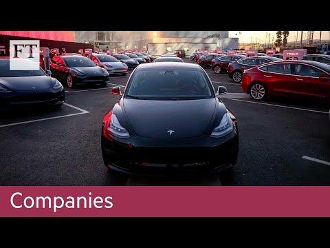 Tesla Model 3 production target pushed back