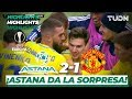 Highlights | Astana 2 - 1 Manchester United | Europa League - J5 - Grupo L | TUDN