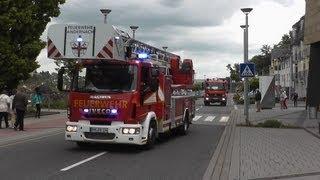 [1000. Video!!!] (B3 Alarm) Erweiteter Löschzug FF Andernach + KTW DRK Andernach (HD)