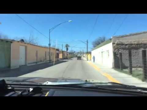 Entrada villa Matamoros Chihuahua
